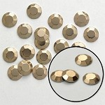 5mm Faceted Metal Iron-on Nailheads by GRS, HF-RHINESTUDS