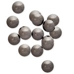 6mm Metal Iron-on High Dome Nailhead by 144 PCs, HF-HIGH DOME