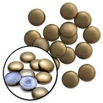 6mm Metal Iron-on Hotfix Convex Dome Nailhead by 144 pcs, TR-10585