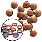 8mm Metal Iron-on Hotfix Convex Dome Nailhead by 72 pcs, TR-10585