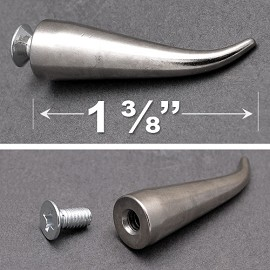 "1-3/8"" Metal Cat Claw Spike with Screw by PC, TR-10556"