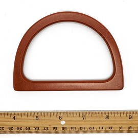 "5-1/4"" x 3"" Wood Purse Handle by Pair, TR-12127"