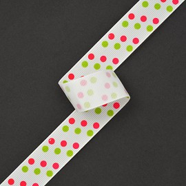 "7/8"" Dazzle Dots Ribbon by YD, MOR-98905"