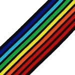 1-5/8 (40mm) Knit Tape Ribbon Trim by 1-Yard, TR-11812
