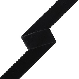 "5/8"" (16mm) Double Sided Velvet Ribbon Trim by YD, MOR-DFV"