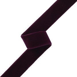 "7/8"" (23mm) Double Sided Velvet Ribbon Trim by YD, MOR-DFV"