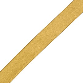 "1/4"" Folded Vinyl Ribbon Faux Leather by YD, YD-527"