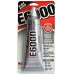 E6000 Black color 2.0 oz Craft Adhesive by each