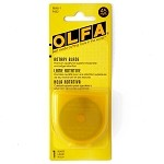 OLFA 45mm Rotary Blade by each, OLFA-RB45-1-9452