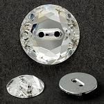 12mm Swarovski Crystal 3014 Rhinestone sew on button