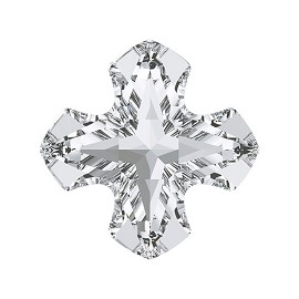 14mm Swarovski Crystal 4784 Greek Cross Fancy Button by PC, SW-4784BT