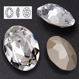 25 x 18mm Swarovski Rhinestone 4120 Oval Fancy Stone