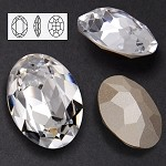 39 x 28mm Swarovski Rhinestone 4127 Oval Fancy Stone