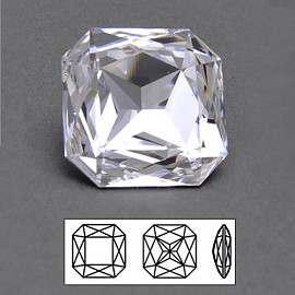 23mm Swarovski Rhinestone 4675 Square Octagon Fancy Stone