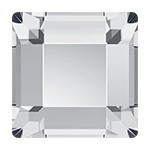 10mm Swarovski 2400 Square Flat Back Crystal