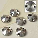 12mm Swarovski Crystal 3200 Rivoli Sew-on Stone