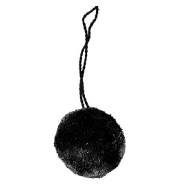 40mm Pom Pom Ball with Loop by pc, STEP-12507