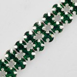 2-Row Rhinestone Banding Trim by Yard, RBD-1002