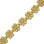 Rhinestone Beaded Trim by Yard, FF-T1418