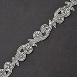 Rhinestone & Beaded Trim by Yard, FF-T1428