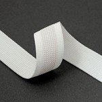 1'' (25mm) Non Slip Gripper Elastic Stretch Ribbon Trim by Yard, SP-2043