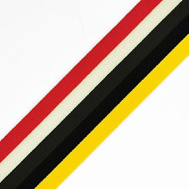 "2"" (50mm) Elastic Stretch Band Trim for headband, hand band and waist belt by 1-Yard, TR-11821 (Multi A)"