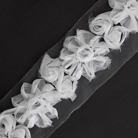 Floral Ribbon Trim by Yard, HDL-032