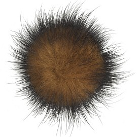 "1-3/4"" Mink Pompom by pc, TR-10608"