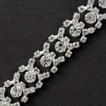 Rhinestone Trim by yard, TR-10474