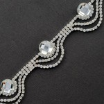 Rhinestone Trim by yard, TR-10477