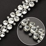 Rhinestone Trim by yard, TR-10455
