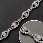 Rhinestone Trim by yard, TR-10479