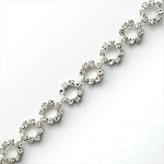 Rhinestone Trim by yard, TR-10471