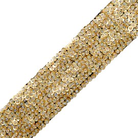 "1-2/5"" Beaded Sequin Trim by YD, TR-10405"