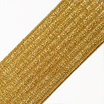 2-3/8'' (60mm) Elastic Stretch Ribbon Band Trim by 1-yard, TR-11389